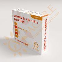 Vitamin B1 & B6 & B12 Injection Vitamin B complex 3ml thumbnail image