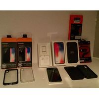 Apple iPhone X - 256GB - Space Gray (Verizon) Unlocked A1865 & Bundle