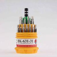 BK-631-31 High Qualtiy 30 in 1 Precision Repair Screwdriver Tool Set Made of Chrome Alum Steel