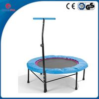 Fitness trampoline with T shape handle
