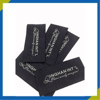 custom cheap woven clothing label, woven labels tags for clothing