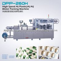 Hot Sale Aluminum-Plastic(Al/Al) Blister Packing Machine DPP260H