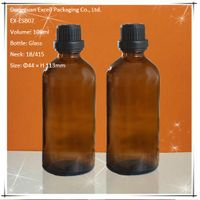 100ml Glass Bottle for Essential Oil with Pump
