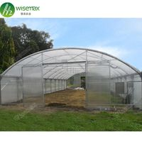 China factory supply 200micron/150micron double layers plastic greenhouse price