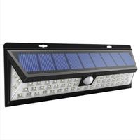 Bright Solar Lights 54 LED Solar Power Outdoor Motion Sensor Light With LED on Both Side thumbnail image
