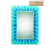 bathroom mirror/hotmelt mirror/beveled mirror/craft mirror/silver mirror/pencil mirror/engraving mir