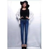 LADIES WAIST FOOT JEANS