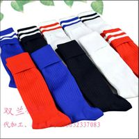 sports knee high football socks