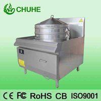 Freestanding induction steamer cooker