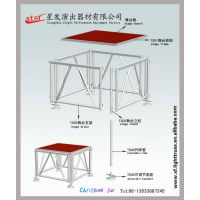 plywood stage platform with aluminum alloy legs thumbnail image