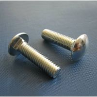 DIN603 carriage bolt grade 4.8/8.8/10.9/A2/A4 with black/zinc plated/HDG thumbnail image