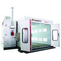 spray booth(CE,ISO,CSA,ETL,SONCAP),car painting booth(zd-c900)