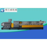 85 mm plastic twin screw extruder, PPS granulator, GFpelletizer