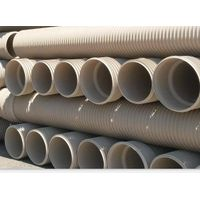 PVC-U FINNED PIPE