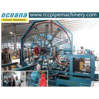 Steel wire cage welding machine for drainage pipe HGZ300-3600 in Algeria