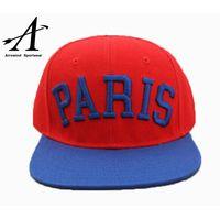 Unisex Wholesale 6 panel sports cap Snapback Hat with customized logo(65050099) thumbnail image