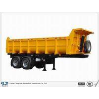 24 cbm dumper semi trailer
