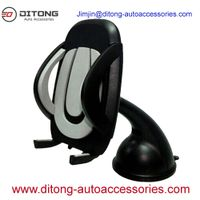 Durable ABS Silicon Car Mobile Phone Holder