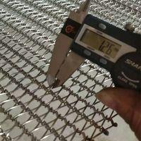 Stainless Steel Wire Mesh Chain Driven Conveyor Belt / Spiral Wirelink Belt thumbnail image