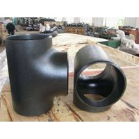 CS SMLS Butt Weld Pipe Fittings including Elbow LR SR 45 90DEG.,Equal Tee,CON.and ECC.Reducer,Cap thumbnail image
