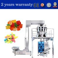 kenwei weighing and packaging system for candy gummy in pouches