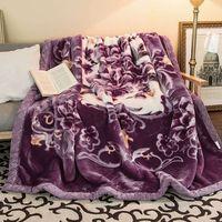 High Quality Raschel Blanket Heavy Mink Blanket