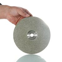 10pcs Lapidary Abrasive Tools Diamond Coated Flat Lap Disc For Grinding And Cutting Forturetools thumbnail image