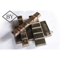 White iron mild steel Chocky wear bars for Bucket wear protection thumbnail image