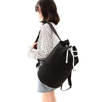 Canvas Backpack Mochila Outdoor Sport Basketball Backpack large capacity travel bag thumbnail image
