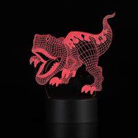 Children's animation Dragons balls 7 colors led 3d led illusion night light lamp Children3.Amazing C thumbnail image