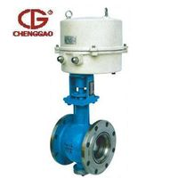 V type adjust ball valve