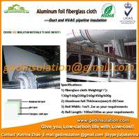 Fiberglass cloth aluminium foil for internal duct insulation