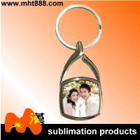 Customized sublimation metal keychain A90