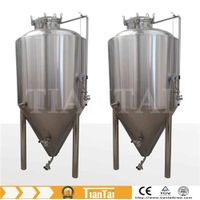 small beer brewing equipment, conical fermenter