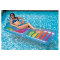 pvc inflatable beach chair /pvc inflatable beach lounge chair/pvc advertising floating bed thumbnail image