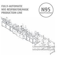 Fully-automatic N95 Respirator Mask Making Machine Production Line thumbnail image