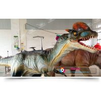 kiddie entertainment equipment walking dinosaur rides