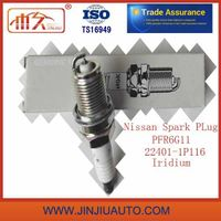Factory Spark Plugs for Nissan Spark Plug 22401-1p116 Pfr6g11 High Power Working 50000 Kms