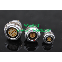 ECG 00B 0B 1B 2B 3B Back Panel Mounting Video Camera Socket Circular Metal Connector