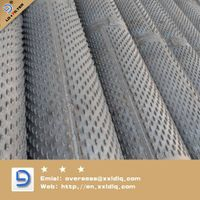 bridge type screen pipes for water/oil well