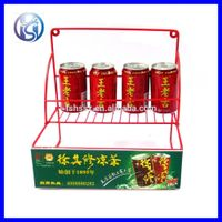 Modern design table top Beverage can display rack HS-X7 thumbnail image