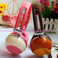 Polishing colors scratch painting DIY design girls headphone cheap