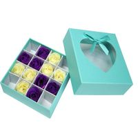 Nice Design Fancy paper gift package box for soap package