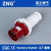 IP67Waterproof Industrial Plug 63A5P, IEC60309 Power Plug 63A 3P+N+PE