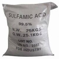 Sulfamic acid (sulphamic acid)