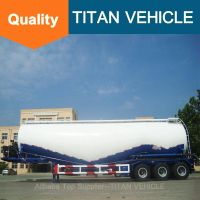 Titan Vehicle bulk cement tank semi trailer V Type Bulk Cement Semi Trailer