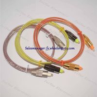 High quality Digital Audio Cable Toslink to Toslink Fiber Optical Patch Cable