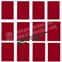 South Korea Index Cheating Poker Cards For Invisible Ink Glasses thumbnail image