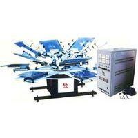 Silk Screen Printing Flocking Macheray
