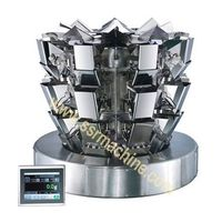 3-Layer 8 Heads scale speed up to 120 wpm Vertical weighing packing system  SR-W8